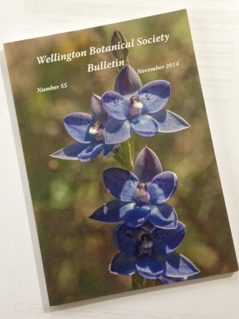 Wellington Botanical Society Bulletin No. 55